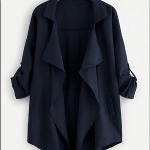 Dark navy blue blazer 2XL